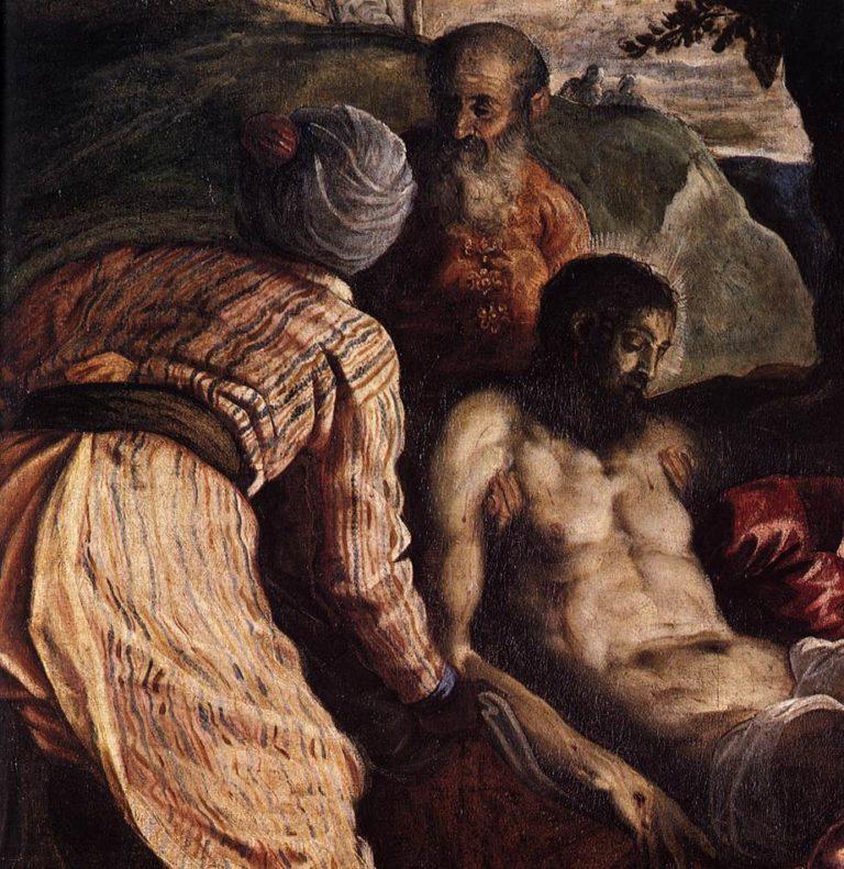 Положение во гроб. Ок.1565