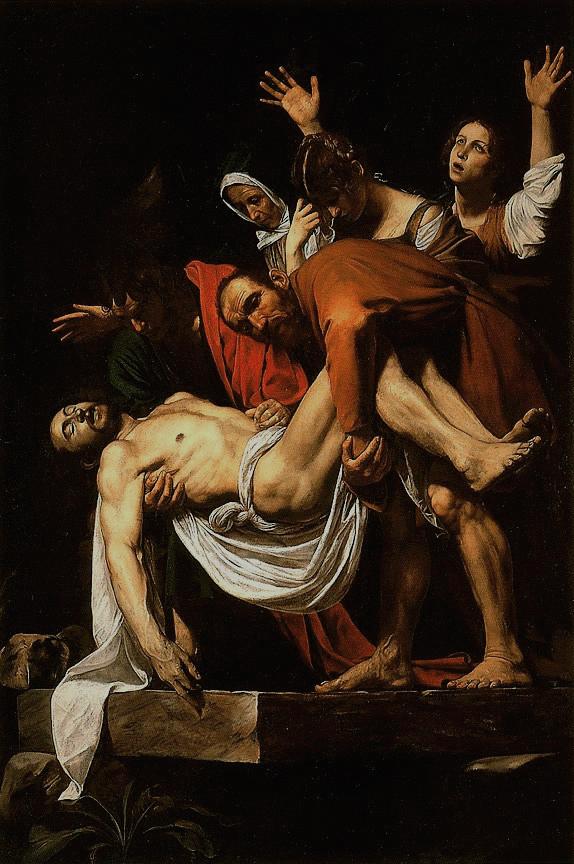 Положение во гроб. Ок. 1602 – 1603