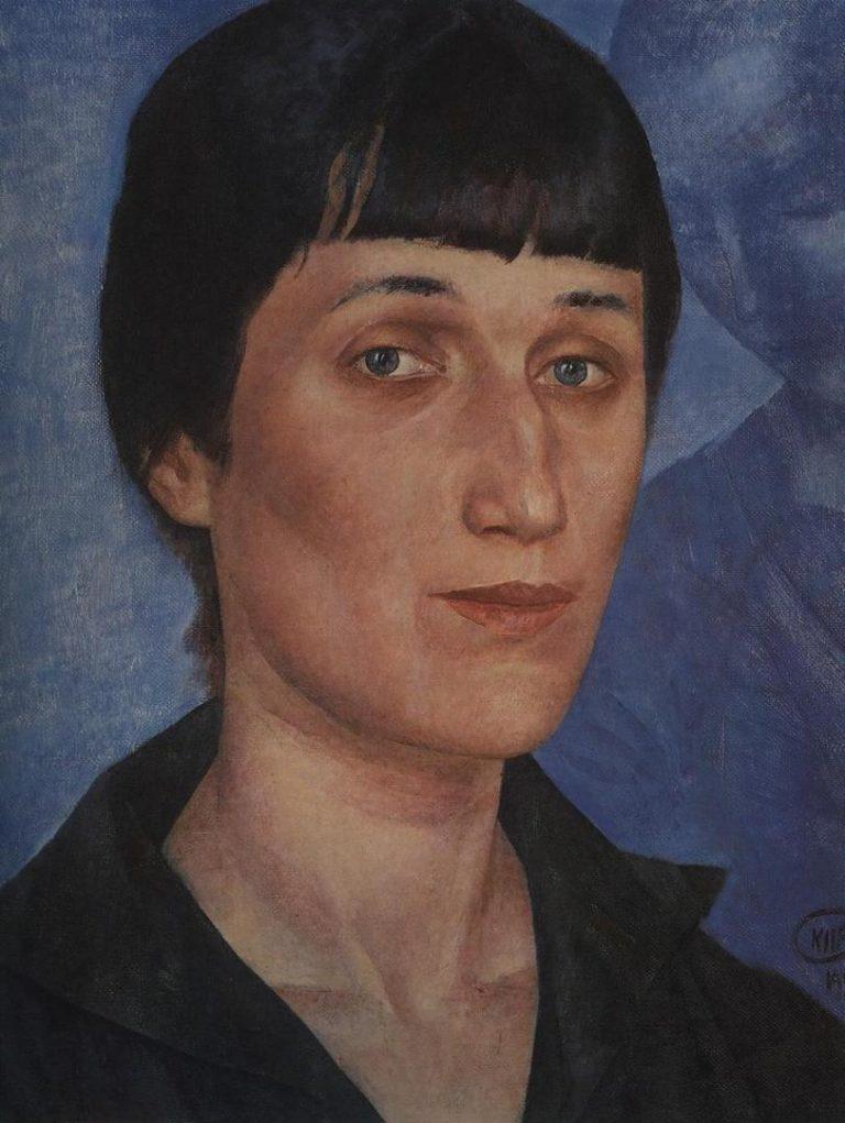 Портрет Анны Ахматовой. 1922