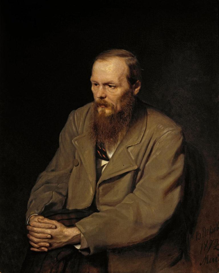 Портрет Федора Михайловича Достоевского (1821—1881). 1872