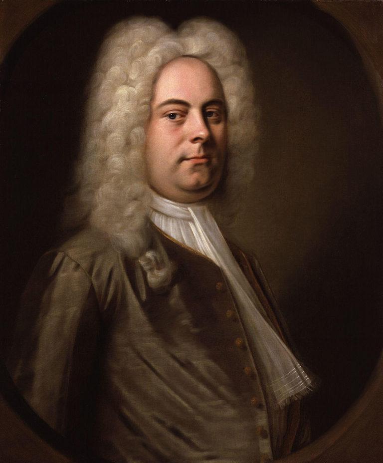 Портрет Георга Фридриха Генделя (нем. Georg Friedrich Händel; 1685–1759). ок. 1726-1728
