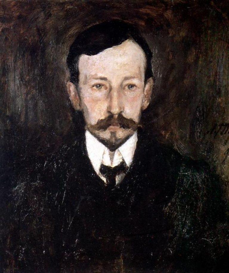 Портрет Ивана Алексеевича Бунина (1870—1953). 1905