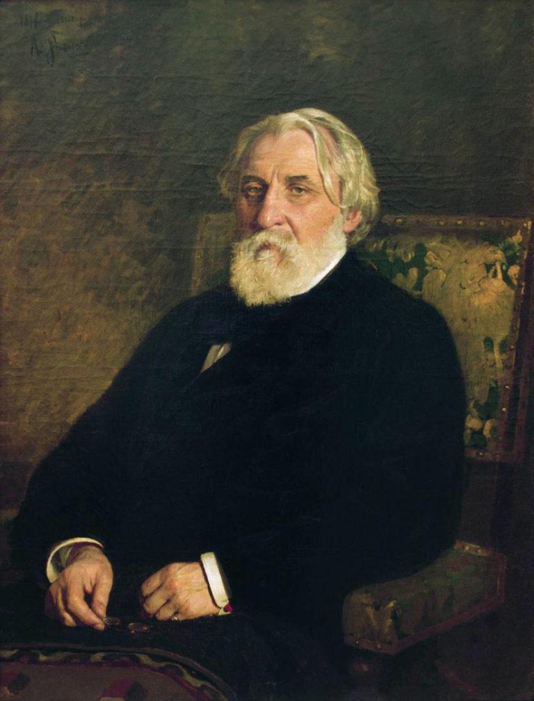 Портрет Ивана Сергеевича Тургенева (1818—1883). 1874