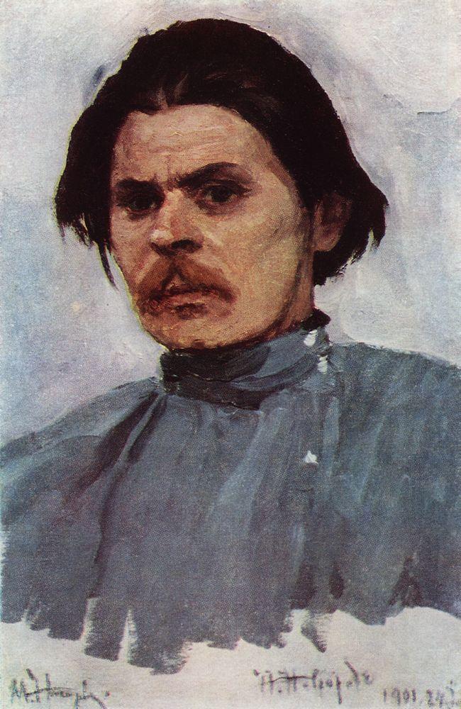 Портрет Максима Горького. 1901