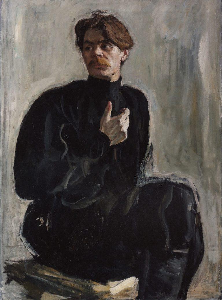 Портрет Максима Горького. 1905