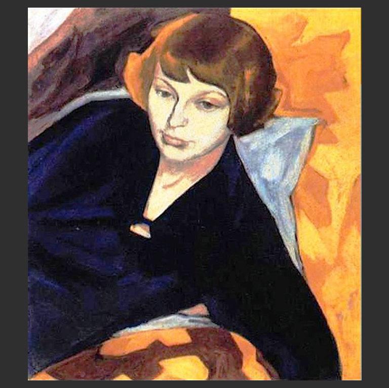 Портрет Марины Цветаевой. 1913