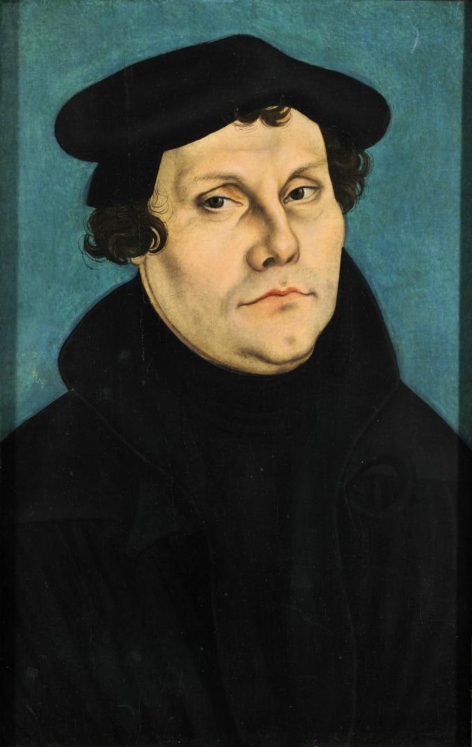 Портрет Мартина Лютера. 1528