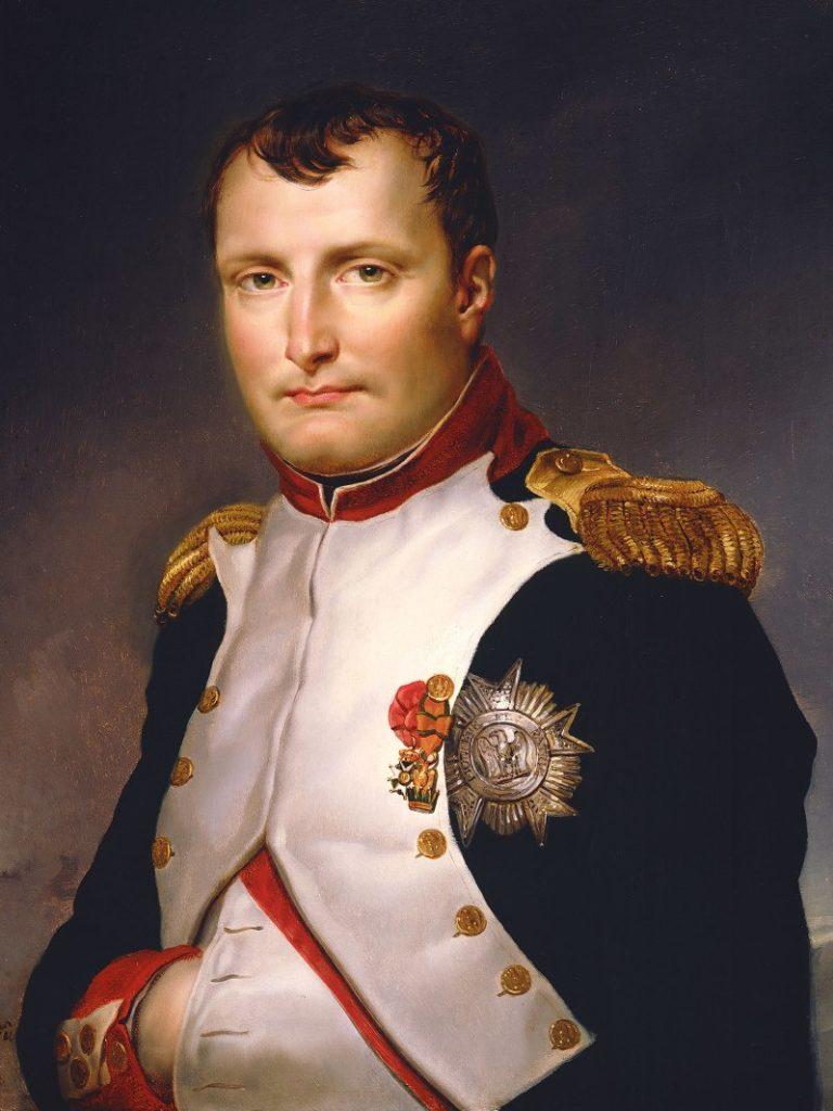 Портрет Наполеона в мундире Национальной гвардии. 1813