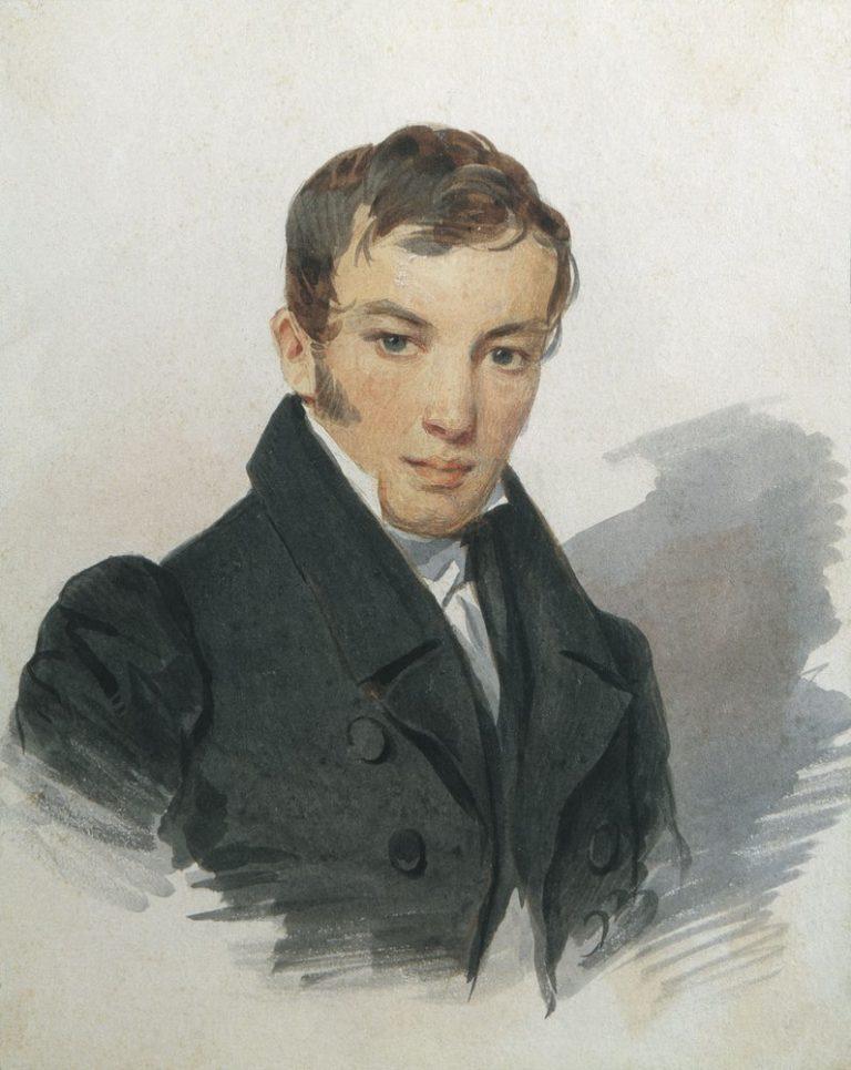 Портрет В.А. Жуковского. 1820-е
