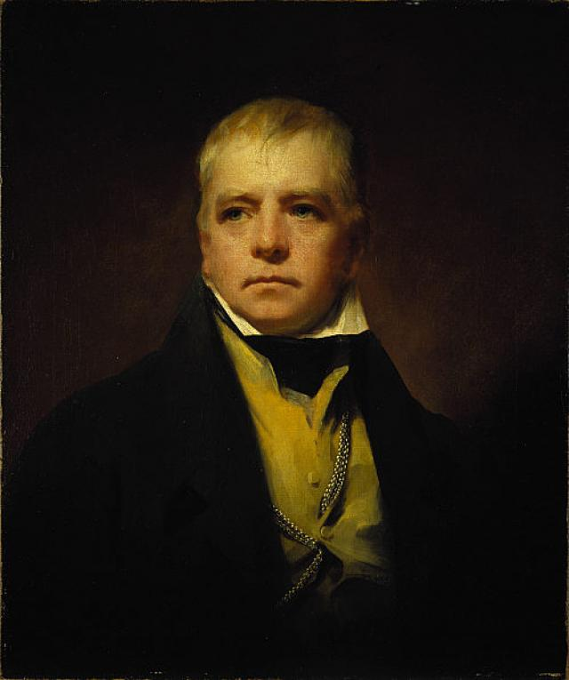 Портрет Вальтера Скотта (1771-1832), романиста и поэта. 1822