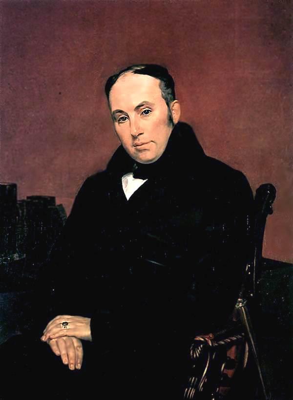 Портрет Василия Андреевича Жуковского (1783—1852). 1837