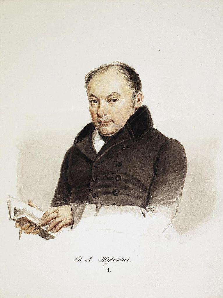 Портрет Василия Андреевича Жуковского. 1837