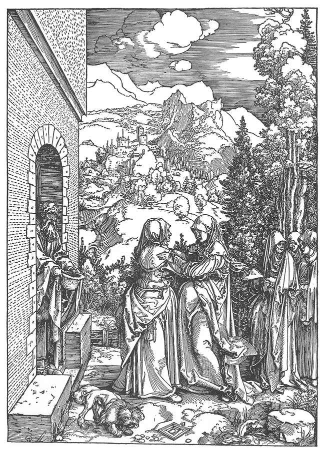 Посещение Елизаветы. 1503