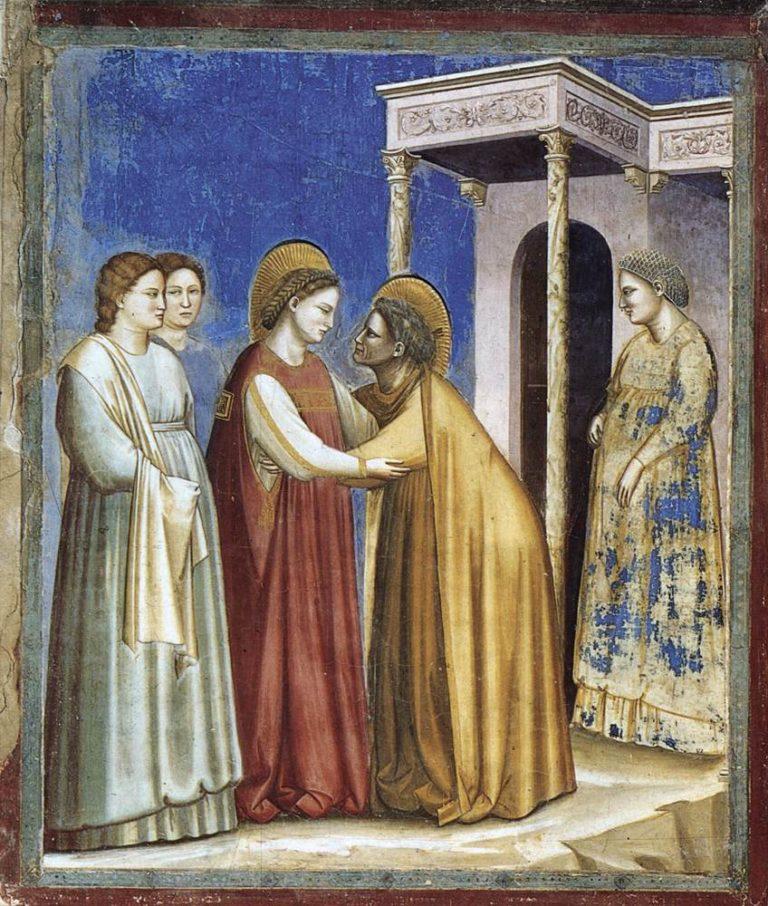 Посещение Марии Елизаветой. 1306