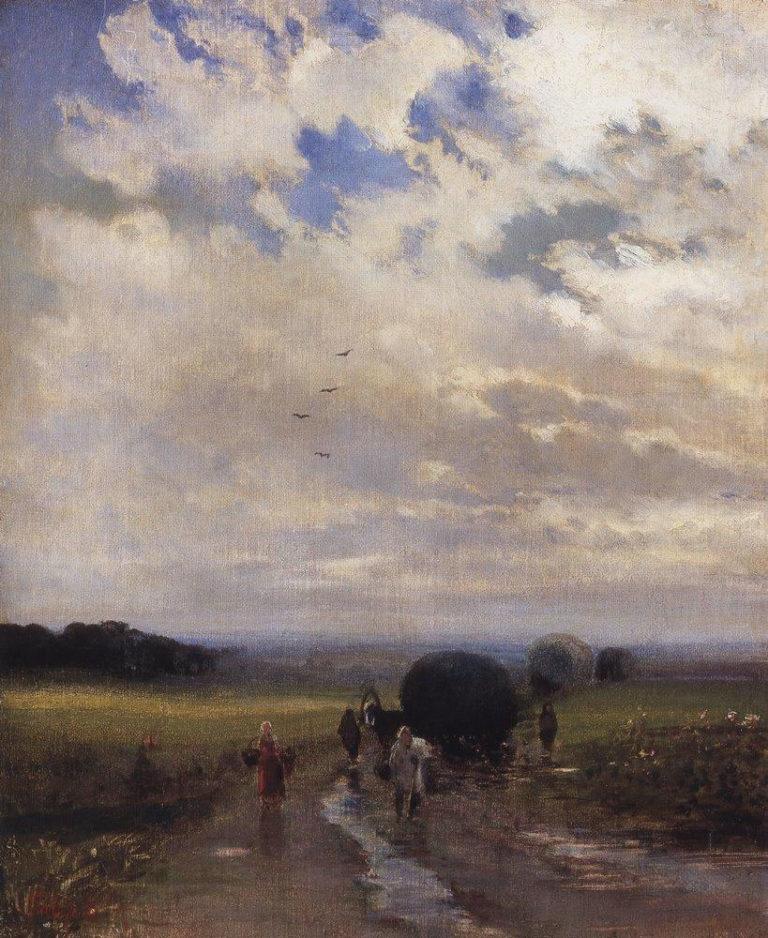После дождя. 1880-е гг.