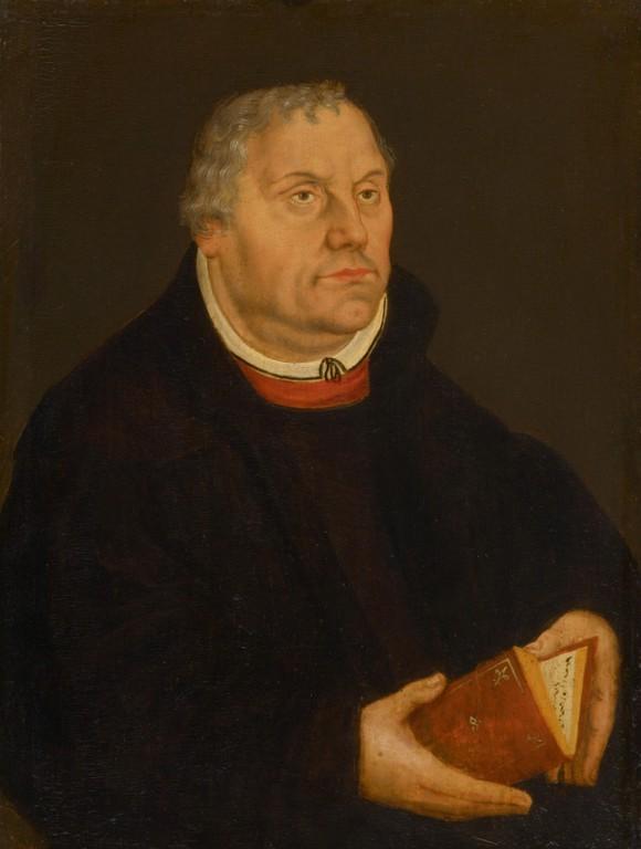 Посмертный портрет Лютера. 1577