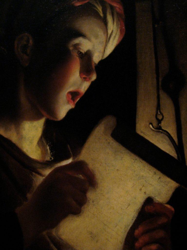 Поющий мальчик. 1620-1640