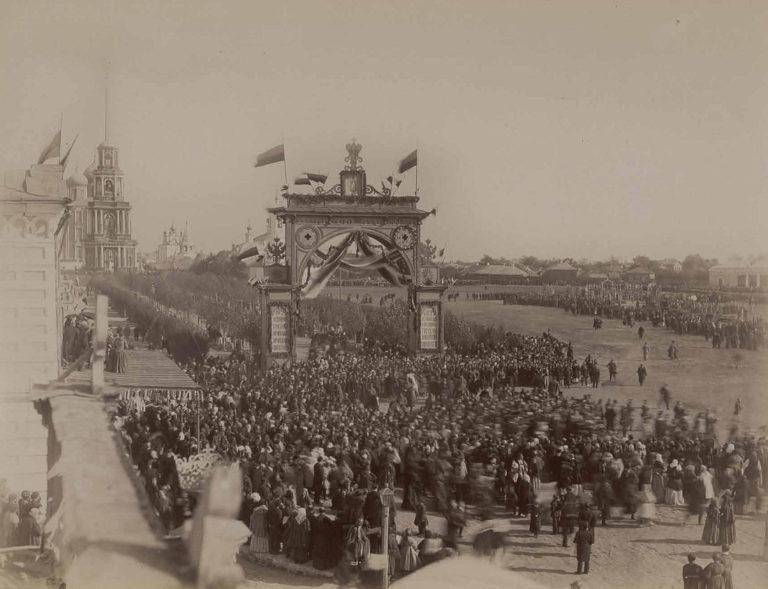 Празднование 800-летия города Рязань, 21 сентября 1895