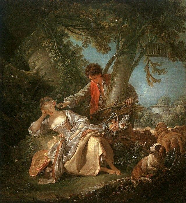 Прерванный сон. 1750