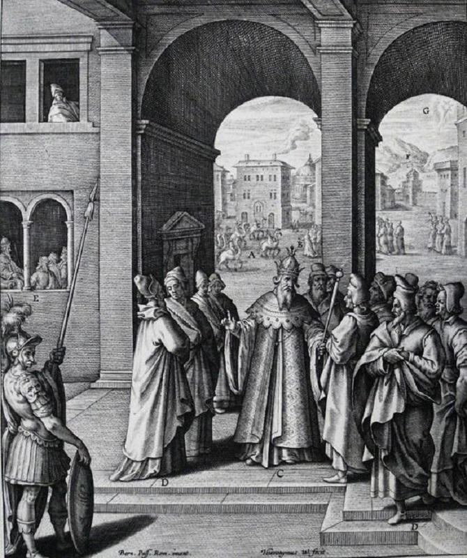 Прибытие волхвов в Иерусалим. 1593