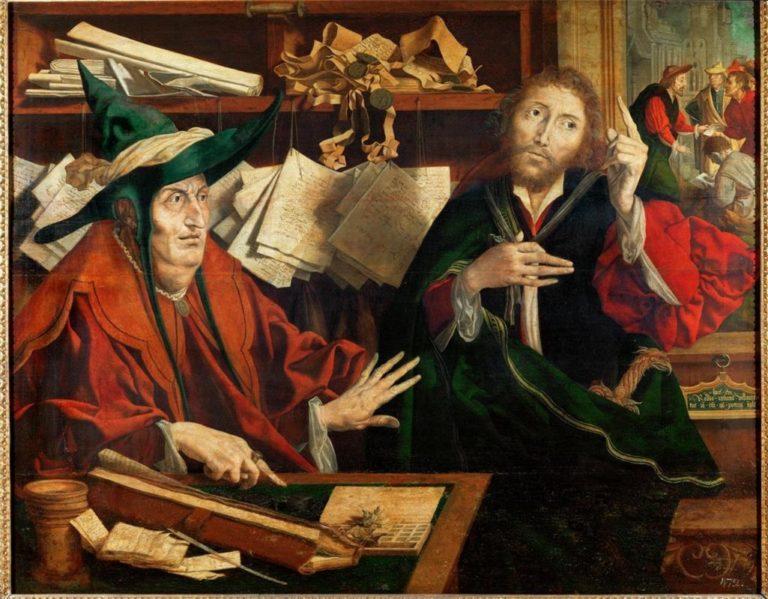 Притча о неверном управителе. Ок. 1540