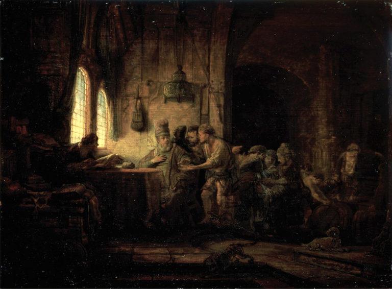 Притча о работниках в винограднике. 1637