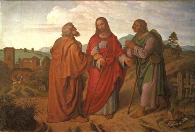 Путешествие в Эммаус. 1837