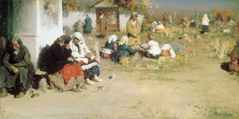 Радоница (Перед обедней). 1892
