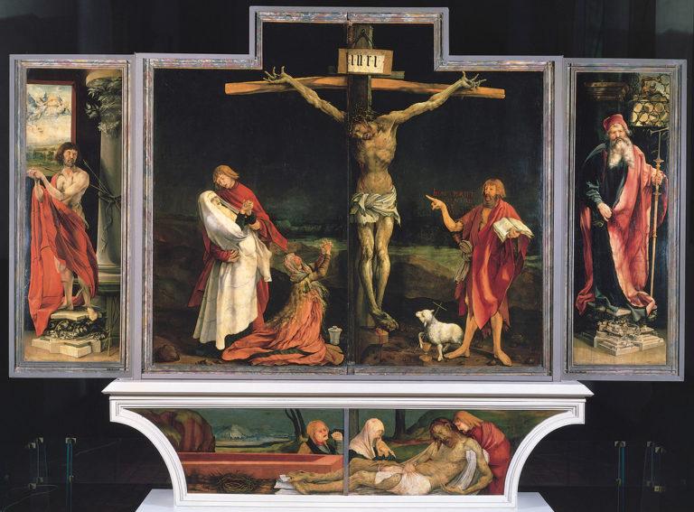 Распятие (Изенгеймский алтарь). Ок.1510-1515.