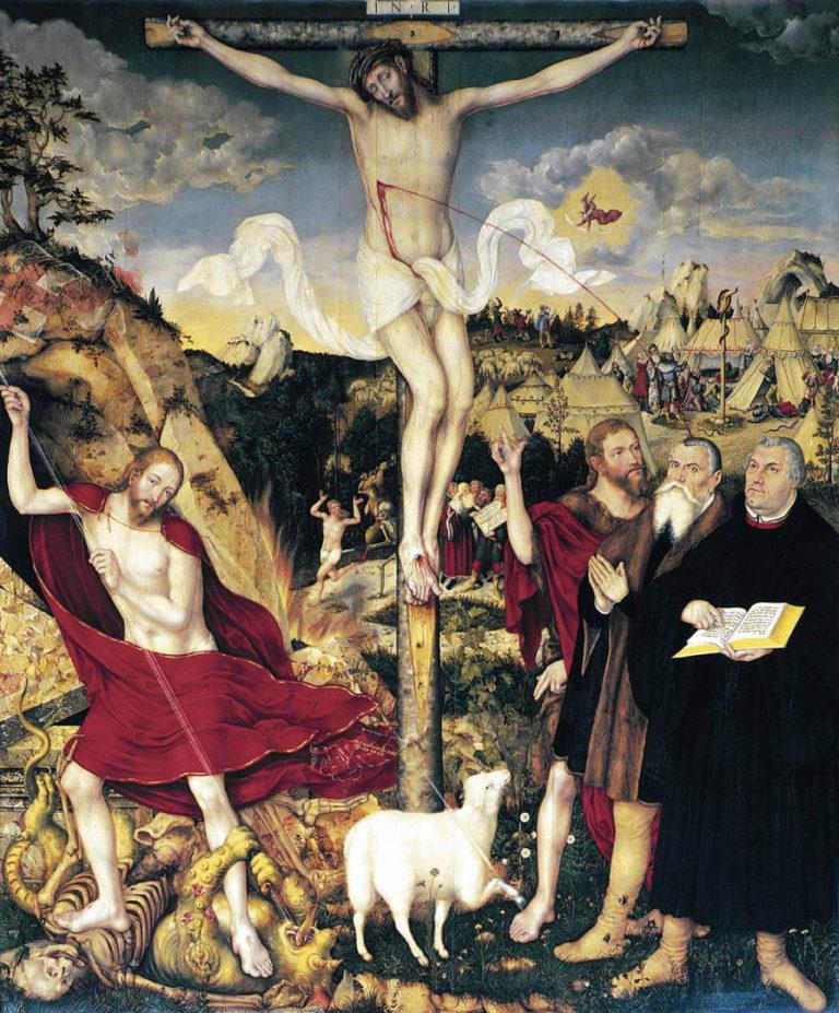 Распятие. 1555