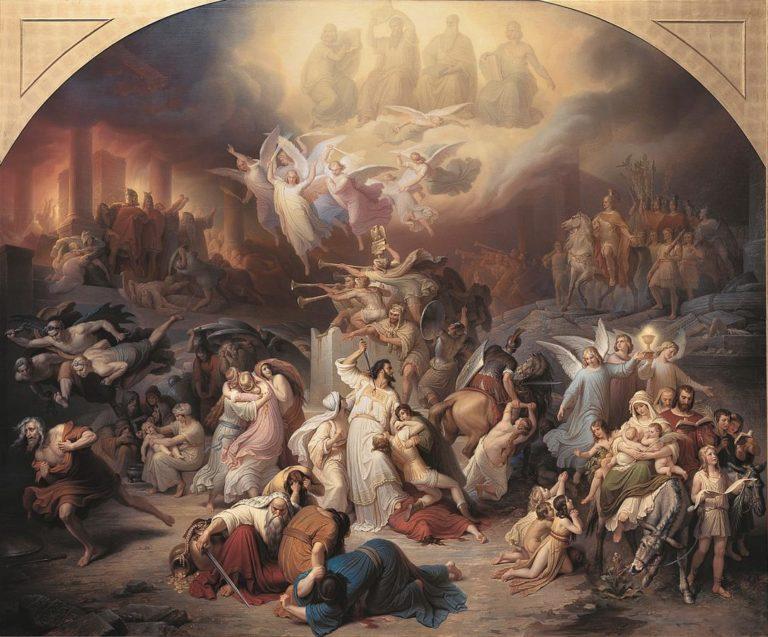 Разрушение Иерусалима Титом. 1846