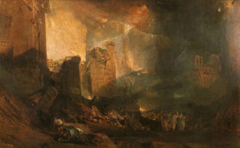 Разрушение Содома. Предп. 1805