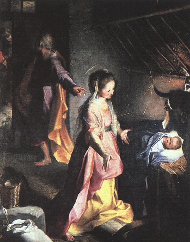 Рождение Христа. 1597