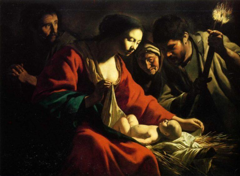 Рождество с факелом. 1635–40