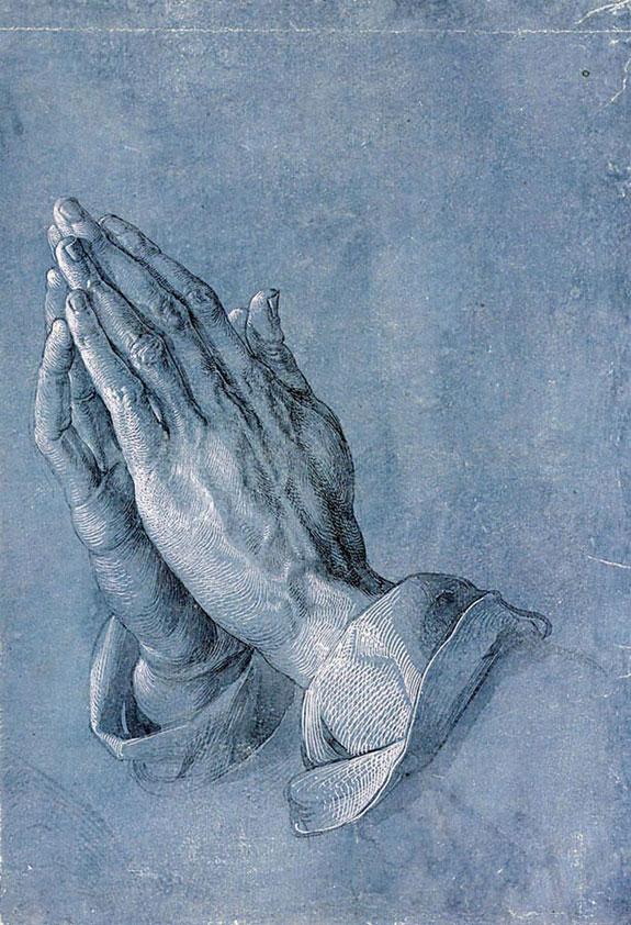 Руки молящегося. ок. 1508
