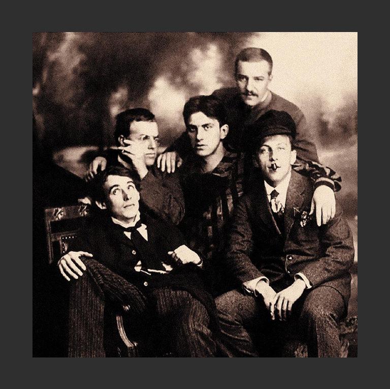 Русские поэты-футуристы. 1912