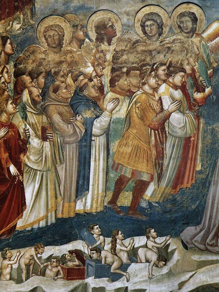 Шествие святых и воскресение мертвых. 1304-1306