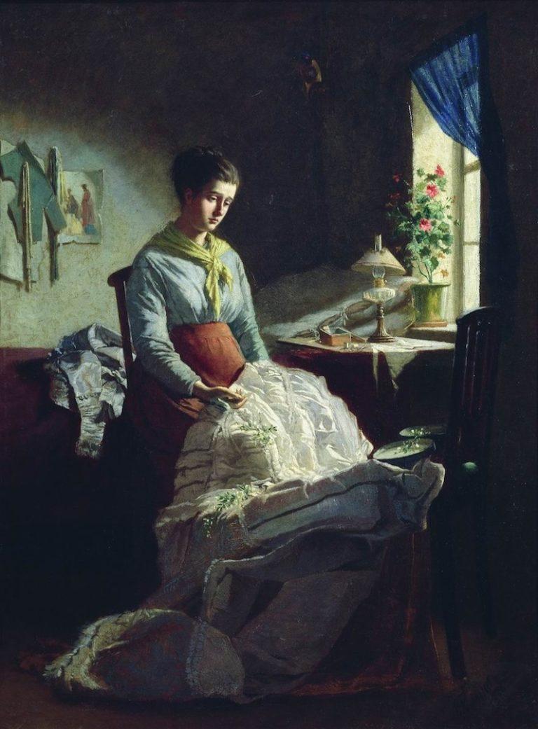 Швея. 1875