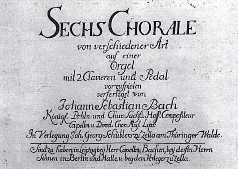 Шюблеровские хоралы