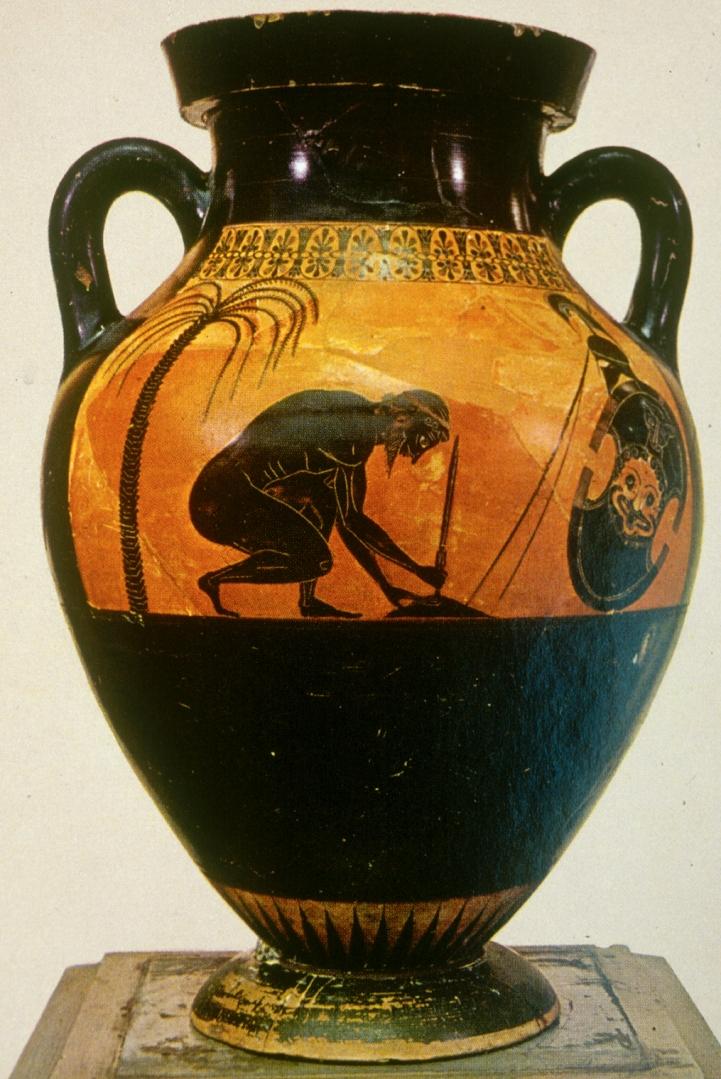 Самоубийство Аякса. Ок. 540 г. до н.э.