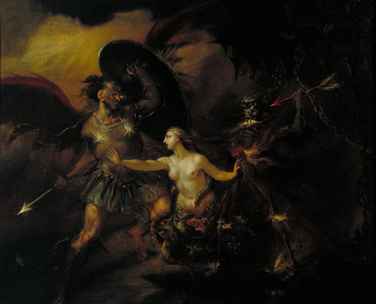 Сатана, Грех и Смерть. 1735