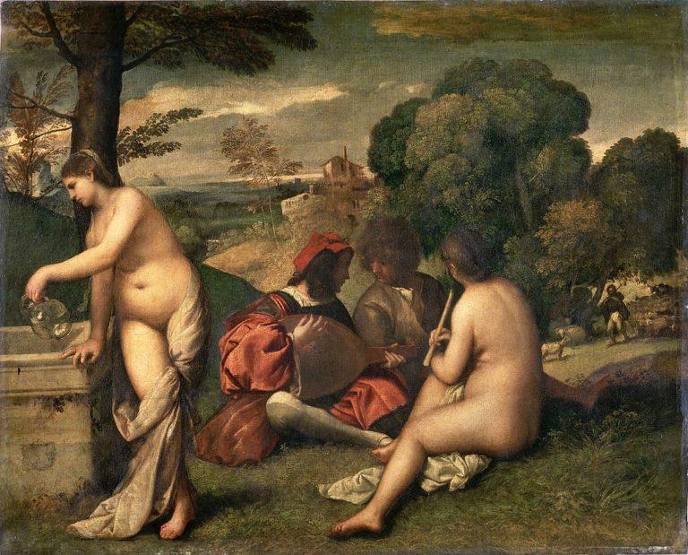 Сельский концерт. Ок.1510