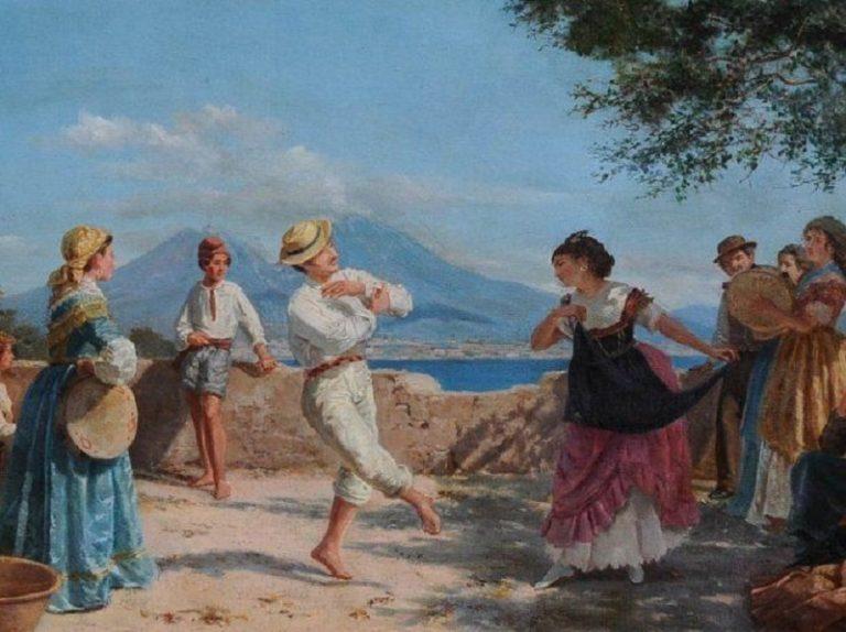 Сельский праздник в Неаполе