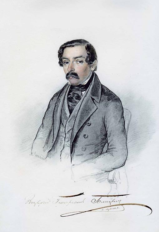 Сергей Григорьевич Голицын, по прозвищу «Фирс» (1803 — 1868)