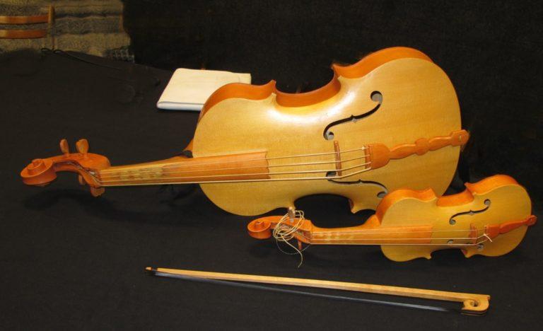 Скрипка-пикколо 1594 г., реконструкция
