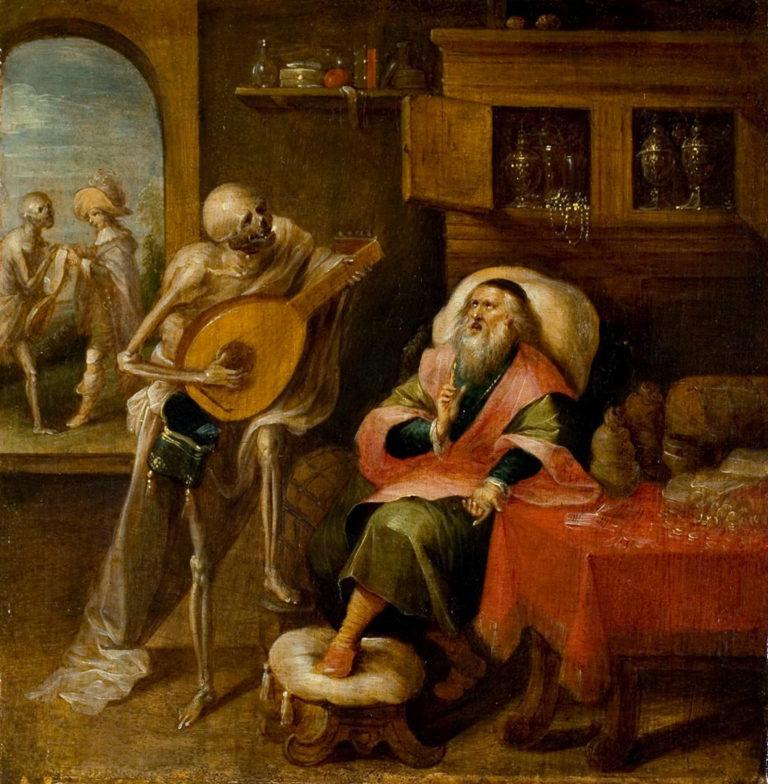 Смерть и жмот. 1635