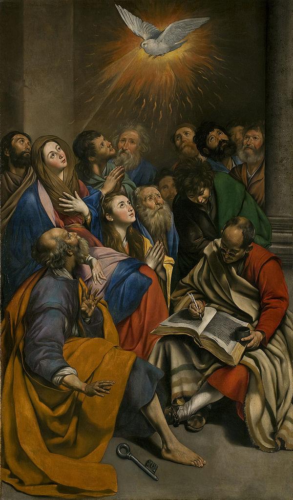 Сошествие Святого Духа. 1612-1614