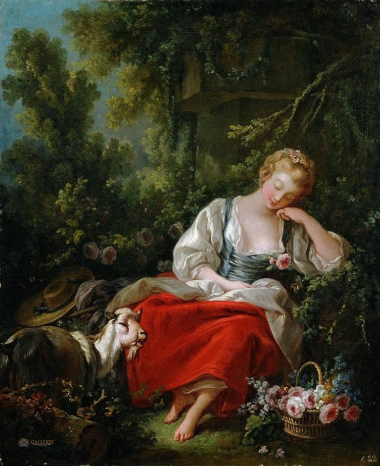 Спящая пастушка. 1760-63