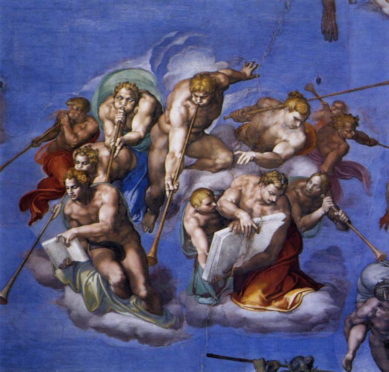 Страшный Суд (деталь). 1537-1541