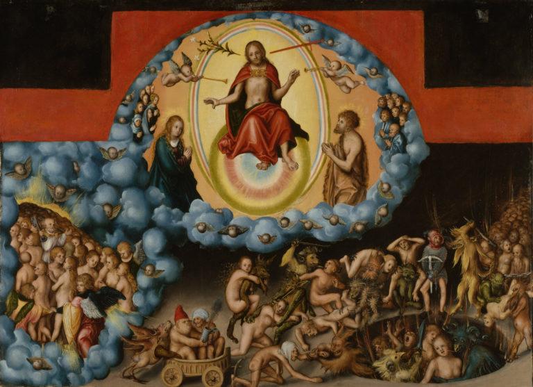 Страшный Суд. 1525-30